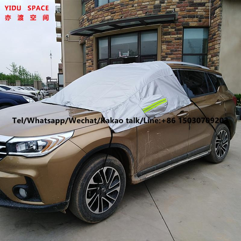 Wholesale Camouflage Waterproof Sunproof Sedan Half Car Cover for SUV