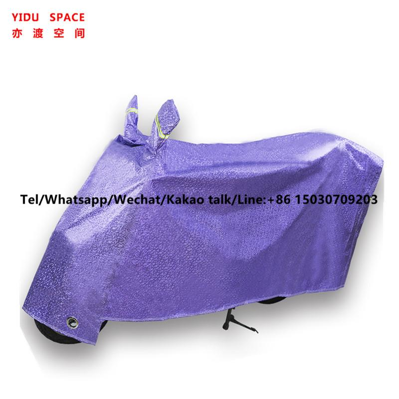 Motorcycle Decoration Motorcycl Accessory UV Protection Rainproof Sunscreen Snow Electric Bicycle Cover red Motorcycle Cover