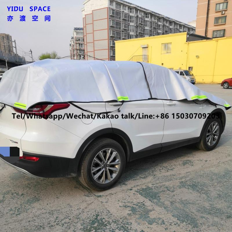 Hail Protection Car Cover >> Camouflage Silver 3 Layer Hail Protection Anti Snow Anti Ice