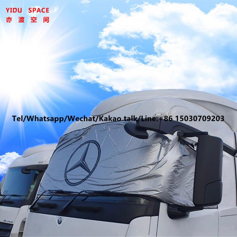 Universal UV Protection Frost-Proof Snow Sunproof Magnetic Truck Windshield Cover