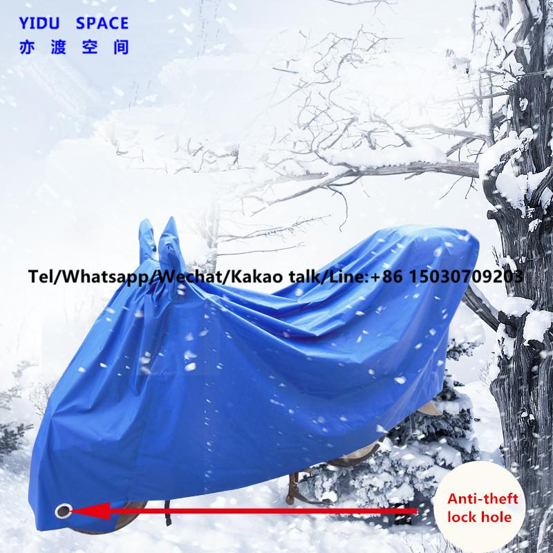 Motorcycle Decoration Motorcycl Accessory UV Protection Rainproof Sunscreen Snow Blue Electric Bicycle Cover Motorcycle Cover